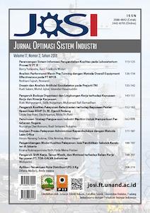Cover JOSI Vol. 17 no. 2. 2018